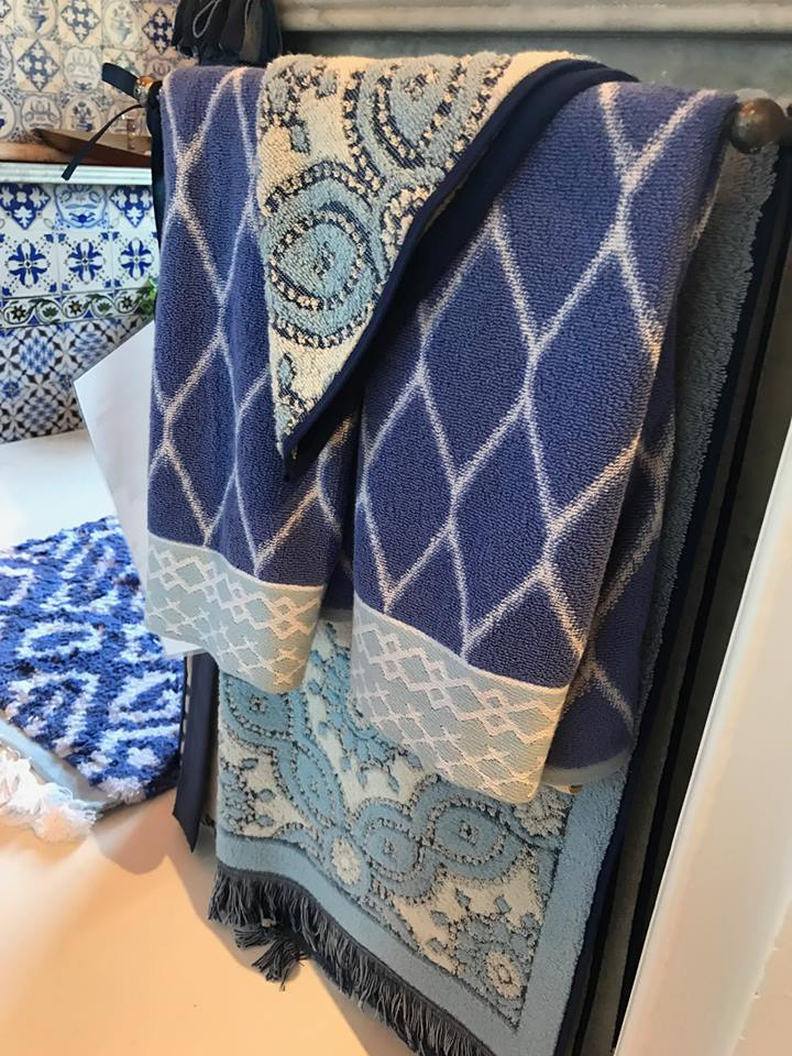 JOHN ROBSHAW TEXTILES (Bath Accessories) BY ORAMA'S IN LOVELY OLDE TOWN MARBLEHEAD, MA