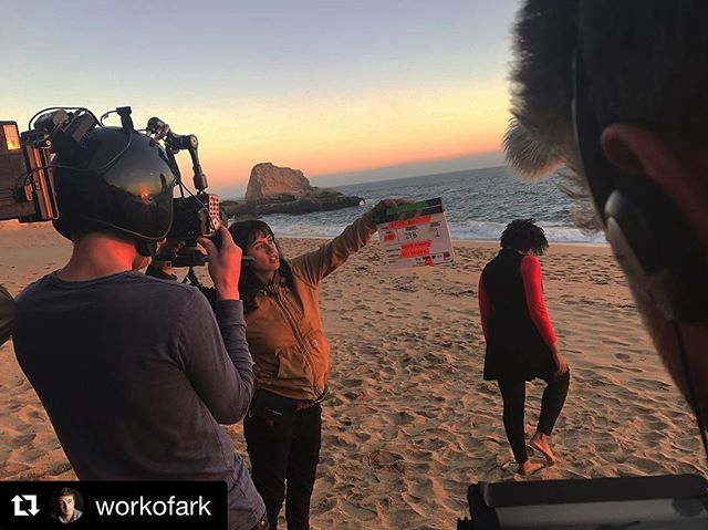 #Repost @workofark ・・・ That's a wrap on @watchroomfilm !!! I can't begin to express the sheer talent and dedication that our cast and crew brought to this production. From a hot Connecticut garage in June, to braving cliffside winds and chasing sunsets in Santa Cruz, it's been an absolute privilege to collaborate with such amazing people. Onto post-production! #ai #artificialintelligence #vr #virtualreality #shortfilm #indiefilm #watchroomfilm