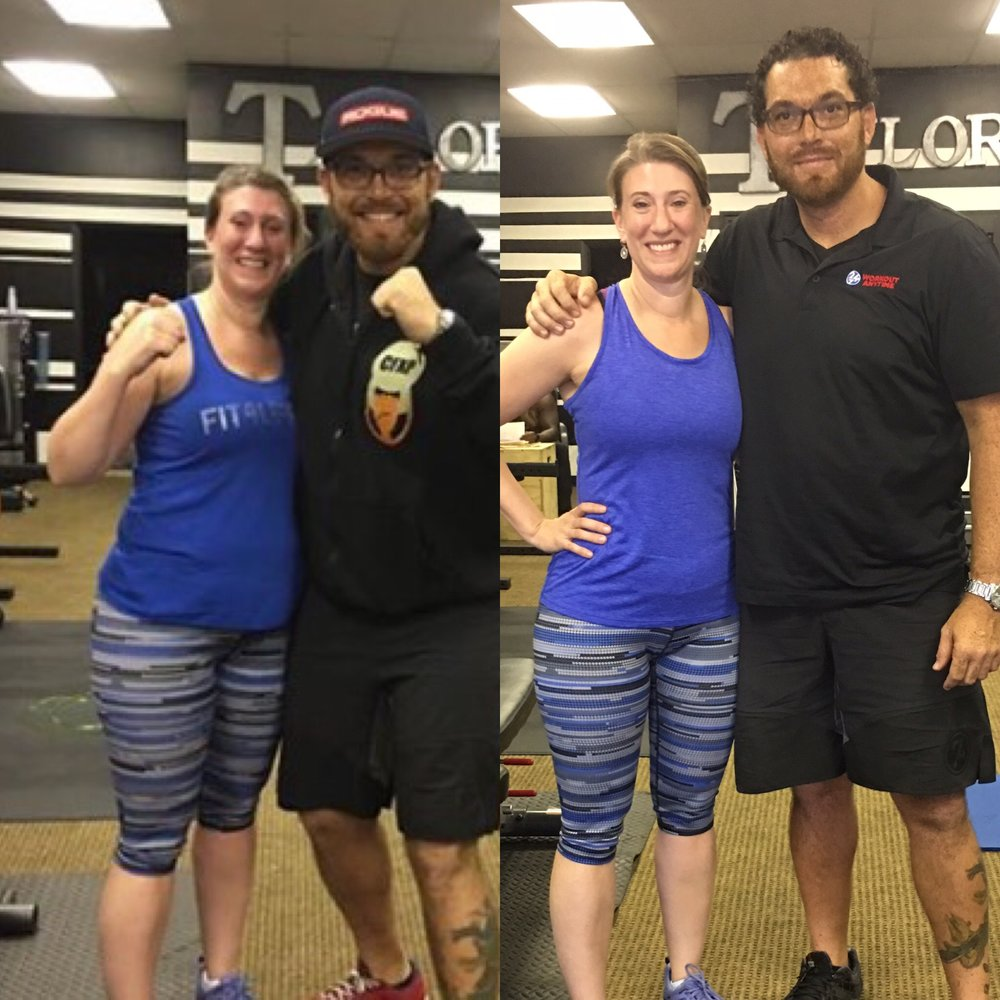 This is me 25 pounds lighter and 11 inches thinner!!! My weight loss was an added bonus - notice my thicker hair and clearer skin. It takes a team and until I worked with Kristy I was stalled in my fitness.Thanks to Kristy @almandinewellness and Jason @heathwealthfamily for all their support.
