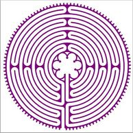 Click To Download A Paper Labyrinth To Trace With Your Finger