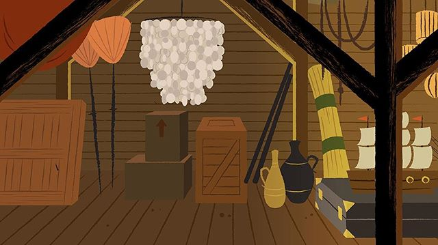 Another sneak peek at Lolo's attic. Who else had a capiz shell chandelier in their house?!? #TheLostLandOfYehey • • • #animatedseries #illustration #graphicdesign #art #graphic #graphics #animation #storyboard #production #behindthescenes #webepic #Filipino #Yehey #lolo #instaart #instaartist #sneakpeek #creative #artwork #capizshell #pinoy #chandelier #filipinosbelike #filipinopride #artistsofinstagram
