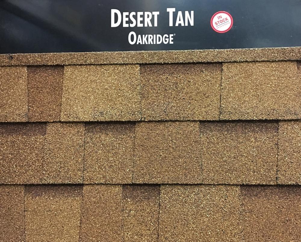 Desert Tan Shingles