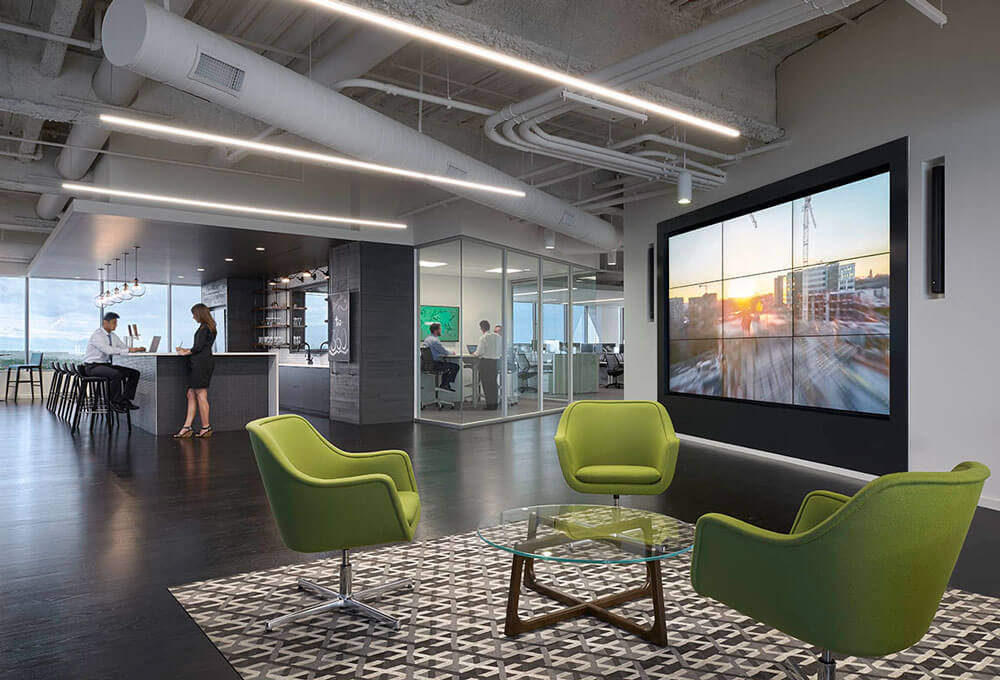International Real Estate Firm CBRE Teamed With Design Giant Gensler To Create A Next Generation Workplace Uniquely Attuned Colorado
