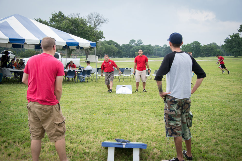 CORN HOLE TOURNEY - BRING YOUR GAME!