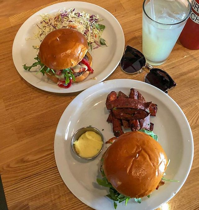 We will be open tomorrow. 📷: @joyceg1221 . . . . . #burger #meeeeeats #fries #memorialdayweekend #dinnersdriveinsanddives #ddd #forkyeah #huffposttaste
