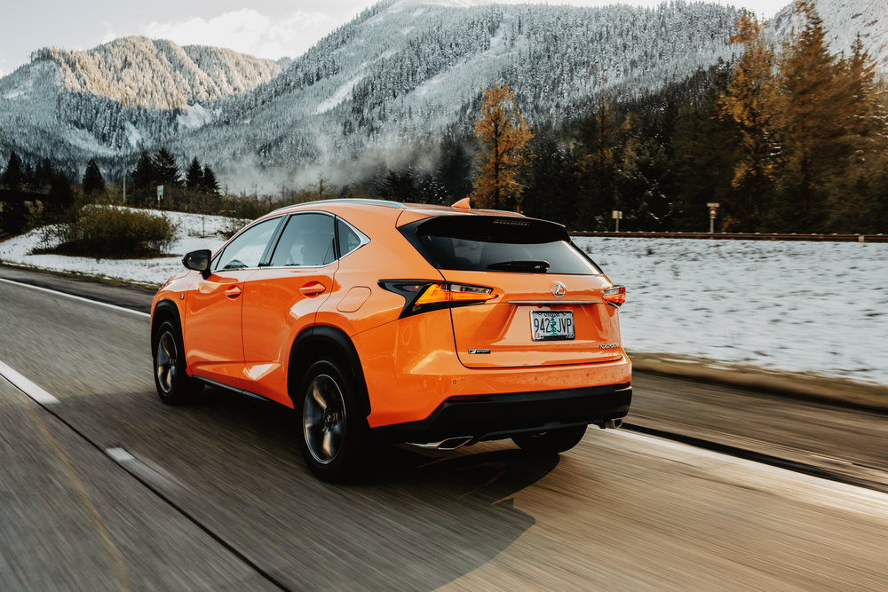 Lexus NX 200t 2018 Ad - Seattle Lifestyle Photography- Nelson Yong