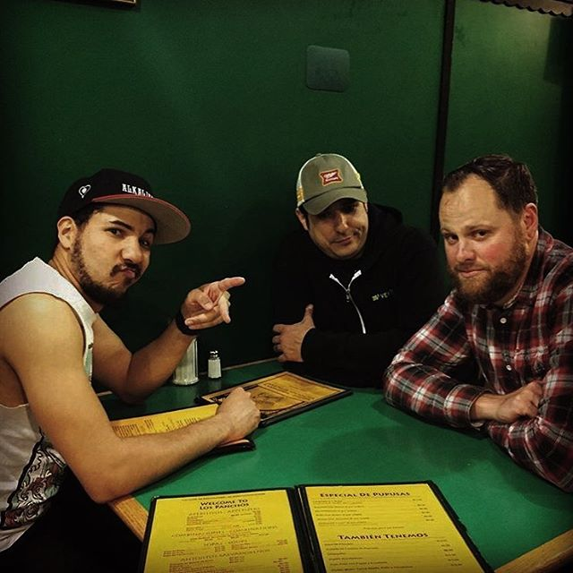 A little #TBT to 2am post show burritos after our first show. We shockingly appear sober...we were not. Oh! Fun fact, one of these nerds doesn't like avocados. Can you guess which one?! . . . #taqueria  #sanfrancisco #firsttry #firsttheworst #californiaburritos #missionstreet #punks #themission #burritos #sf #bottonofthehill #sfpunk #punk #borracho #diy #diyordie #localband #musiclife  #rockshow #loudguitars #hoesfseessf #igersf #rockout #californialove #wildbayarea #indiemusic #supportlocalmusic #throwbackthurday #knockoutsf