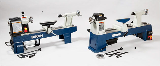 Rikon Lathes Lee Valley Tools || via The Design Edit.