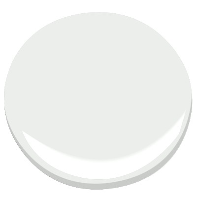 Decorator's White, Benjamin Moore || via The Design Edit