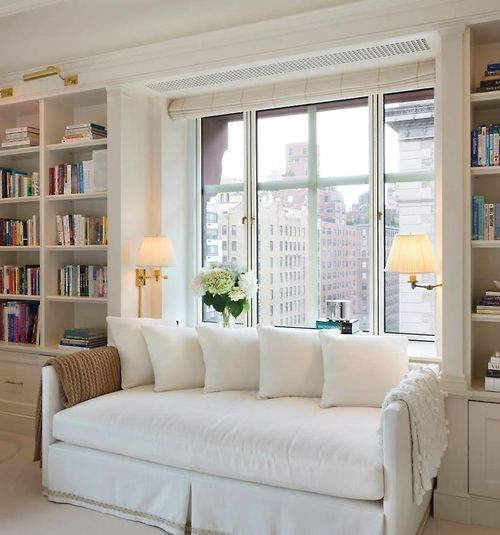 Daybed with Built-ins || via The Design Edit