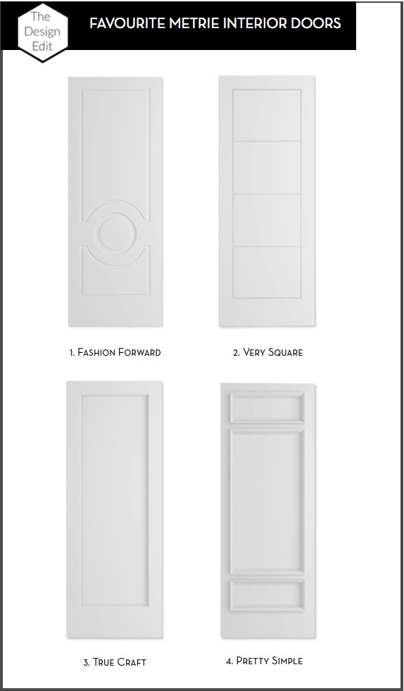 The Design Edit Favourite Metrie Interior Doors