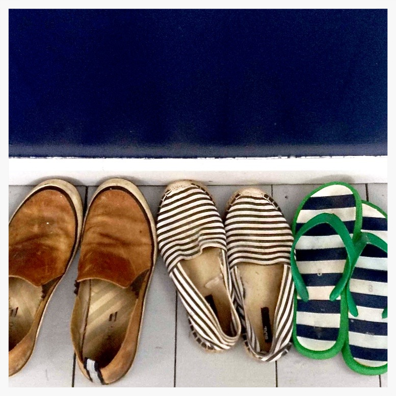 Espadrilles striped || via The Design Edit