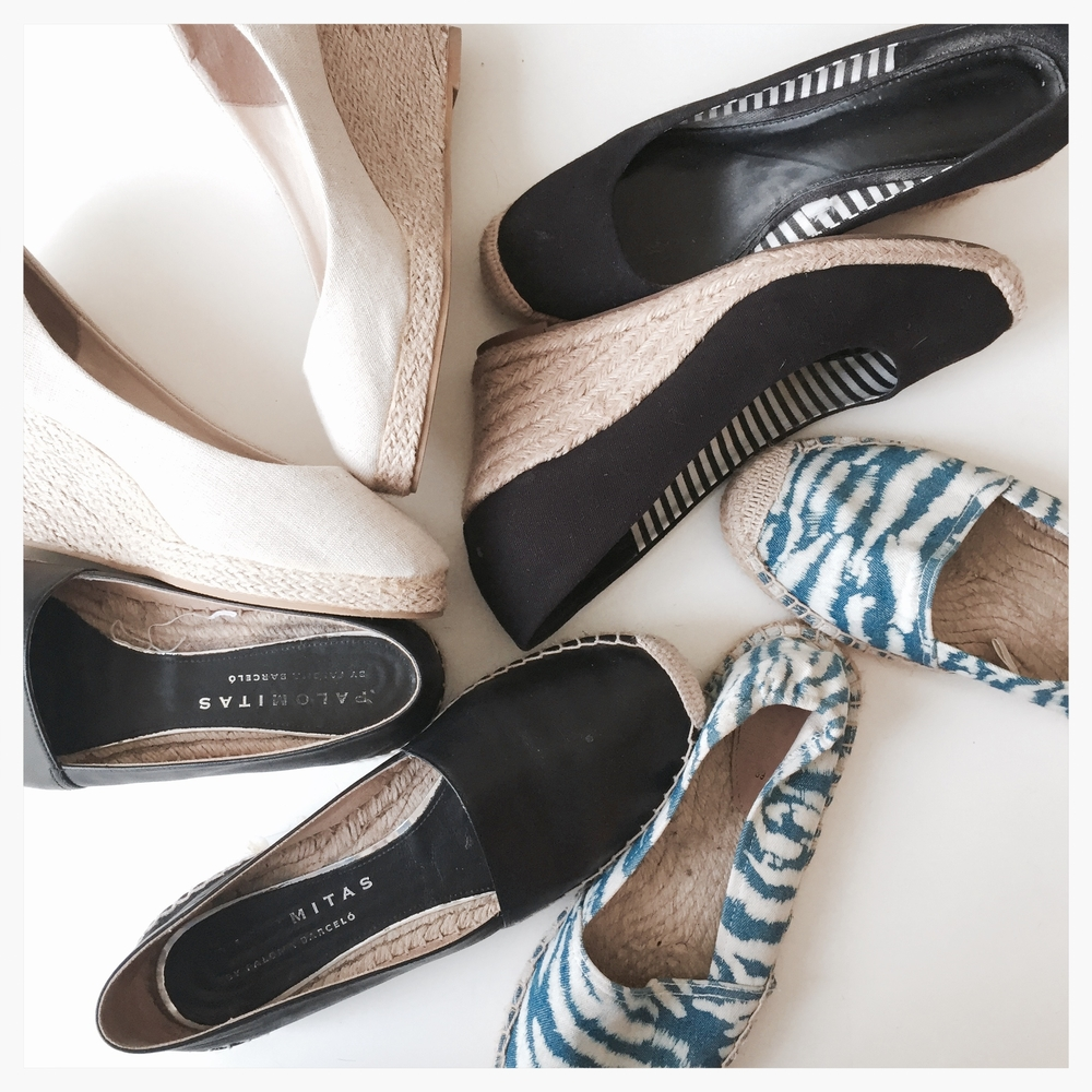 Espadrille collection || via The Design Edit