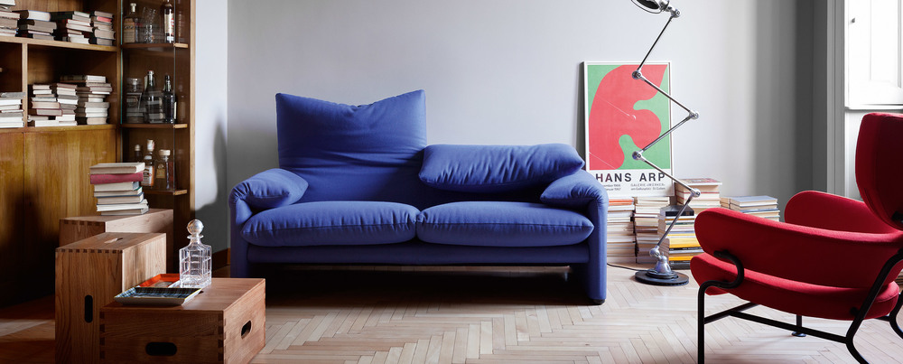 A Cassina press image. I'd move right in here.