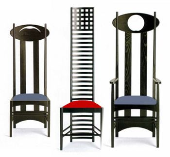 Chairs by Charles Rennie Mackintosh