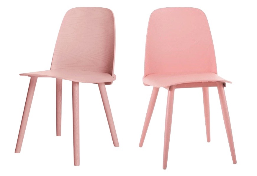 Lookalikes: Nerd and Clovis chairs