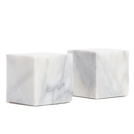 2. Coast Marble Bookends