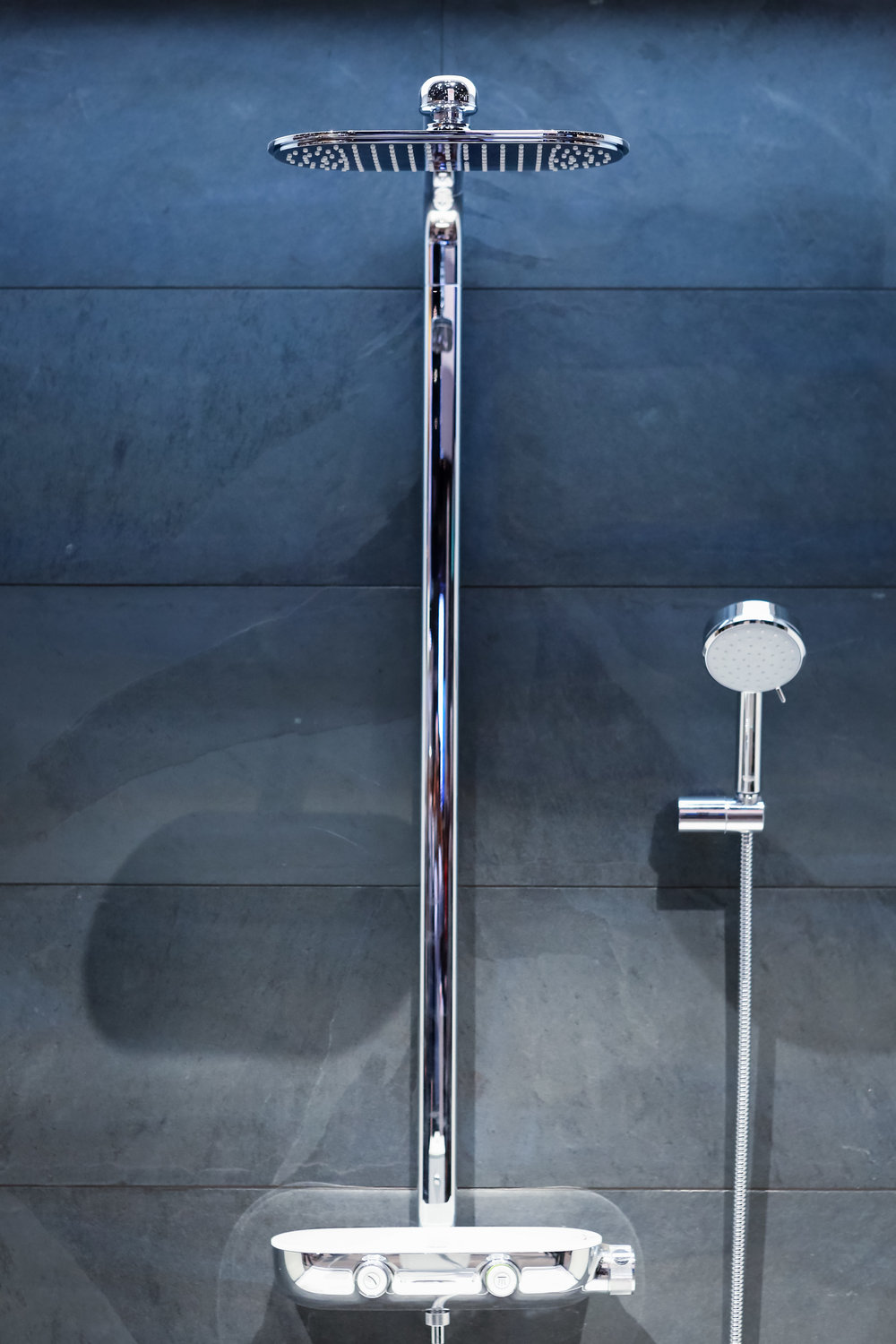 Grohe SmartControl RainShower. Photo by Felix O.B./FXO Photography.