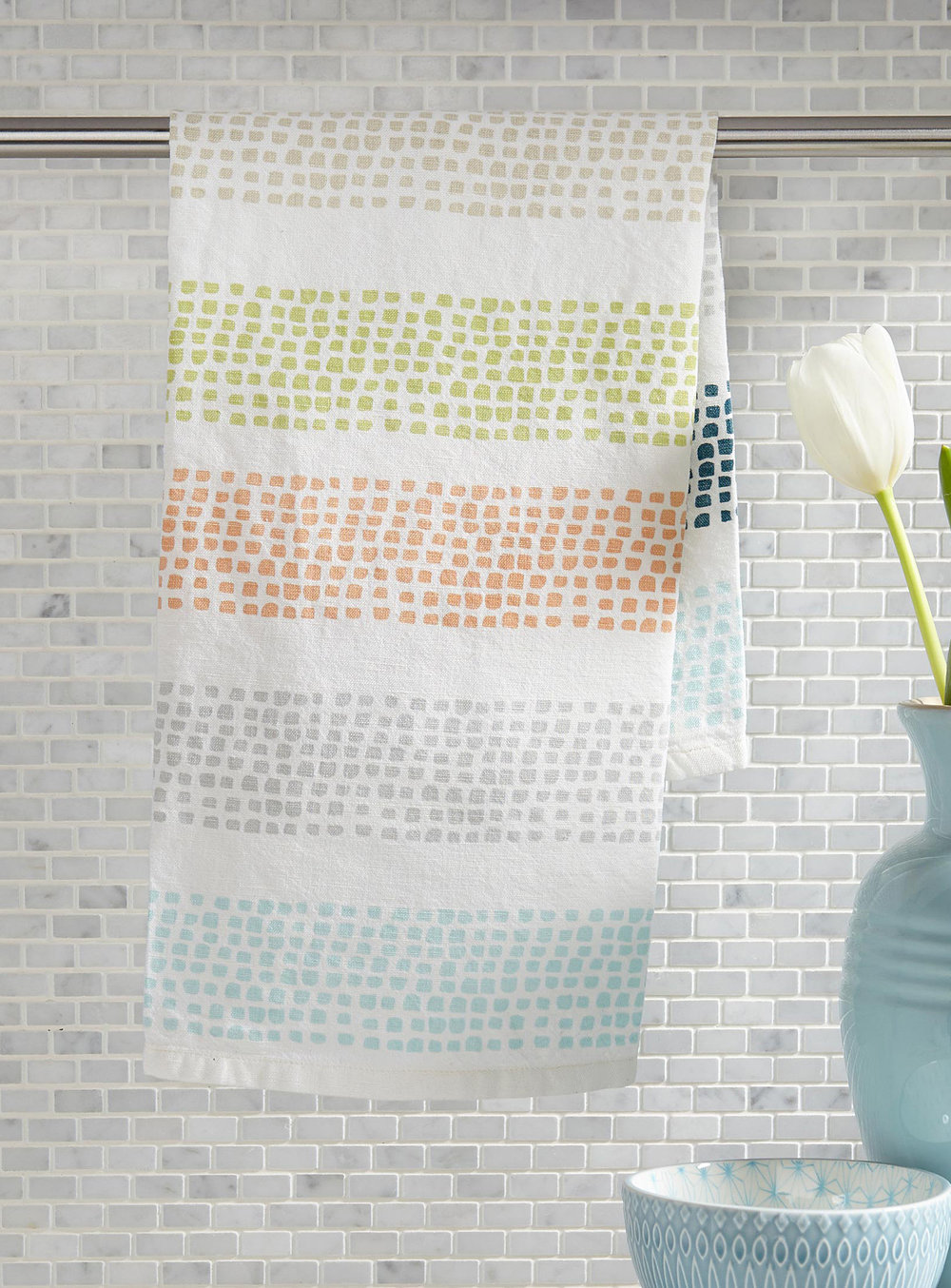 1. Noah's Lines Tea Towel