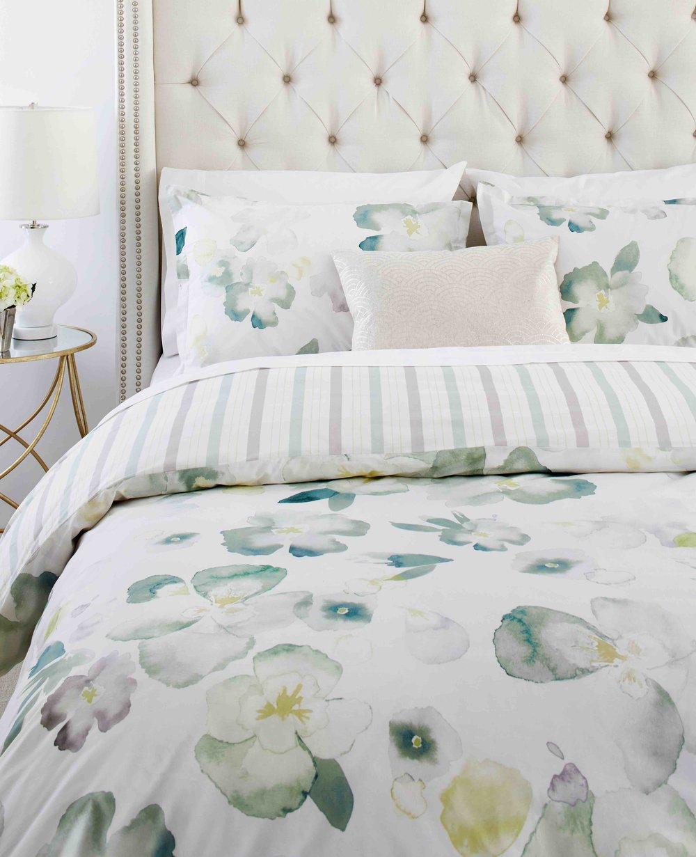 8. Floral Bedding