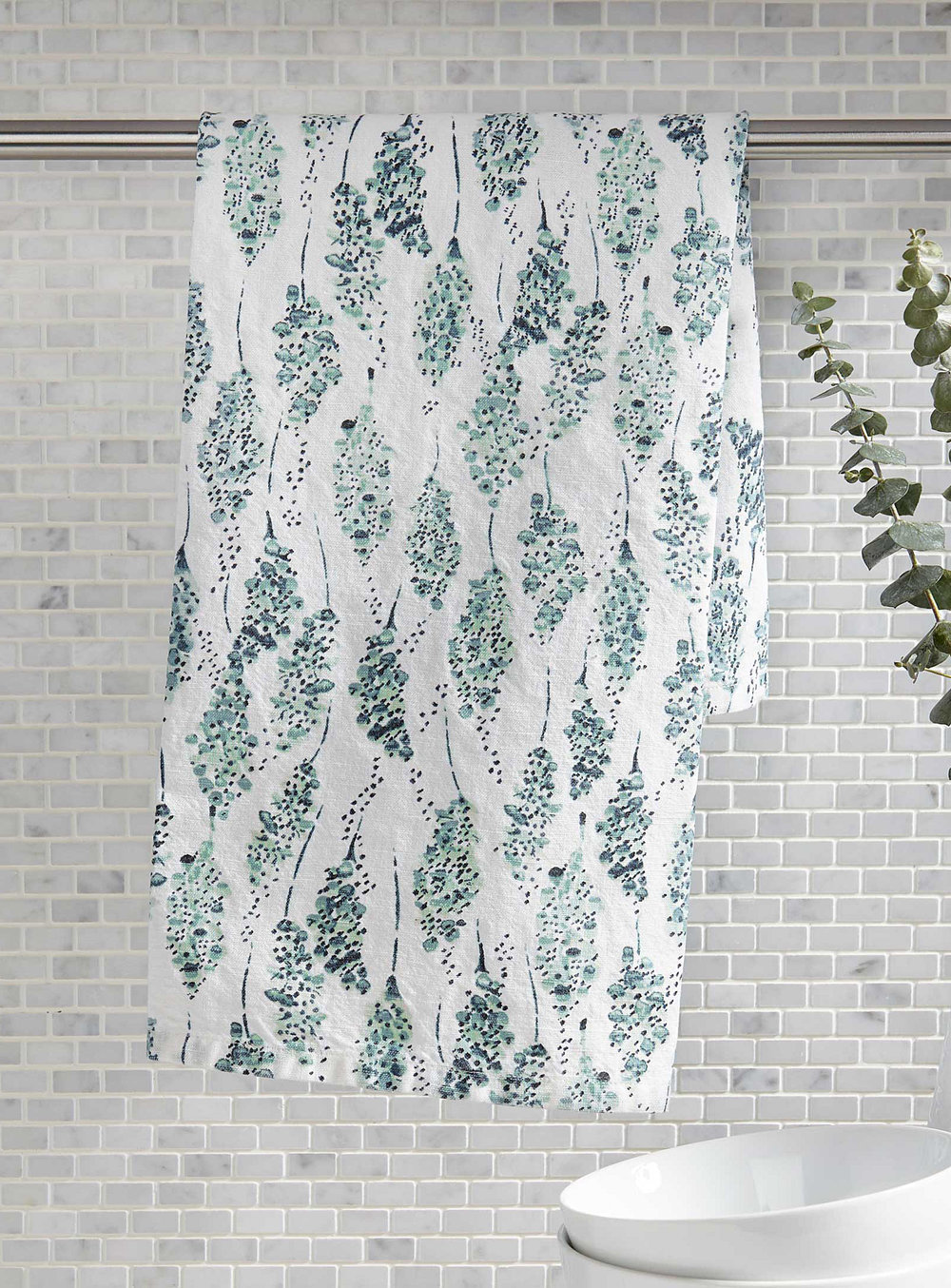 2. Hyacinth Tea Towel