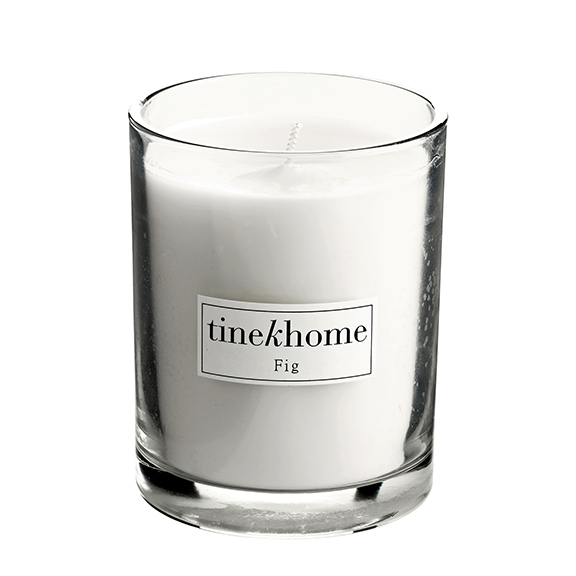 Ahhh the delightful aroma of fig — a little bit sweet but not cloying. A crowd pleaser.  TineKHome fig candle , $23.
