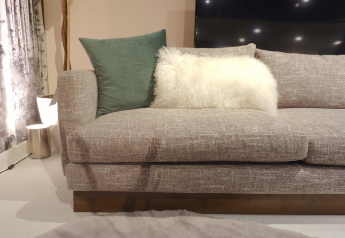 ron fiore century furniture. nathan anthony are experts in upholstered goods and they had many design construction innovations on display this andrew sectional sofa above was an ron fiore century furniture