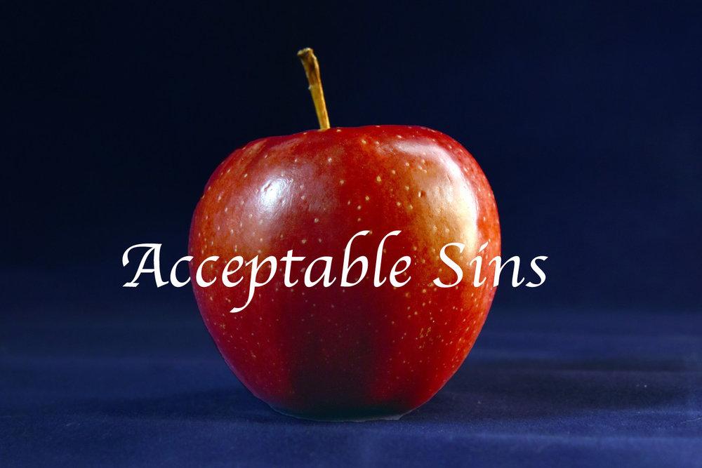 Acceptable Sins series