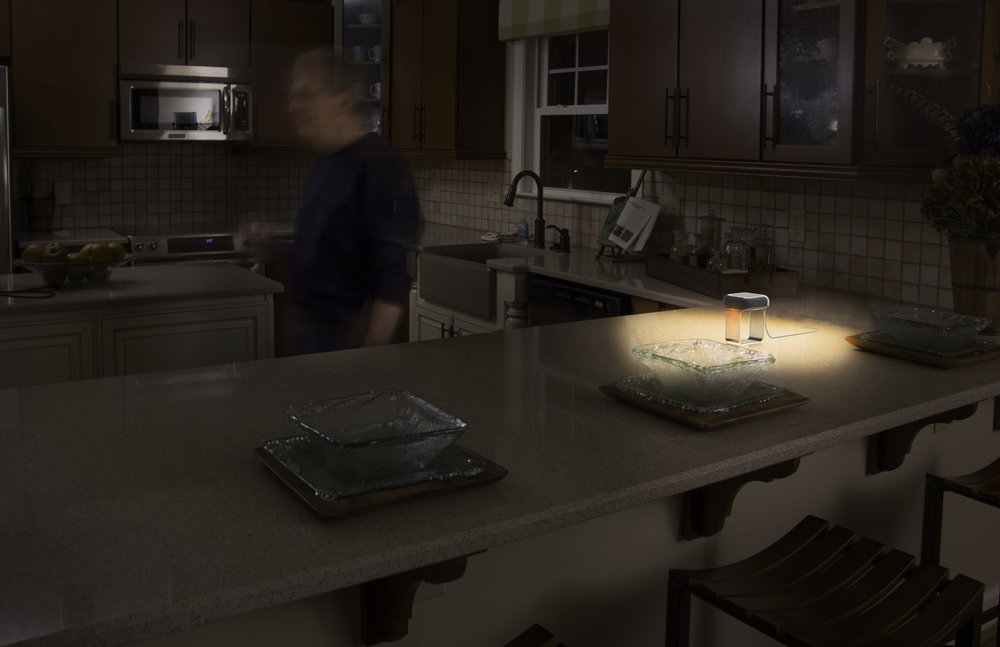 Polaris is a connected lighting system for older adults.
