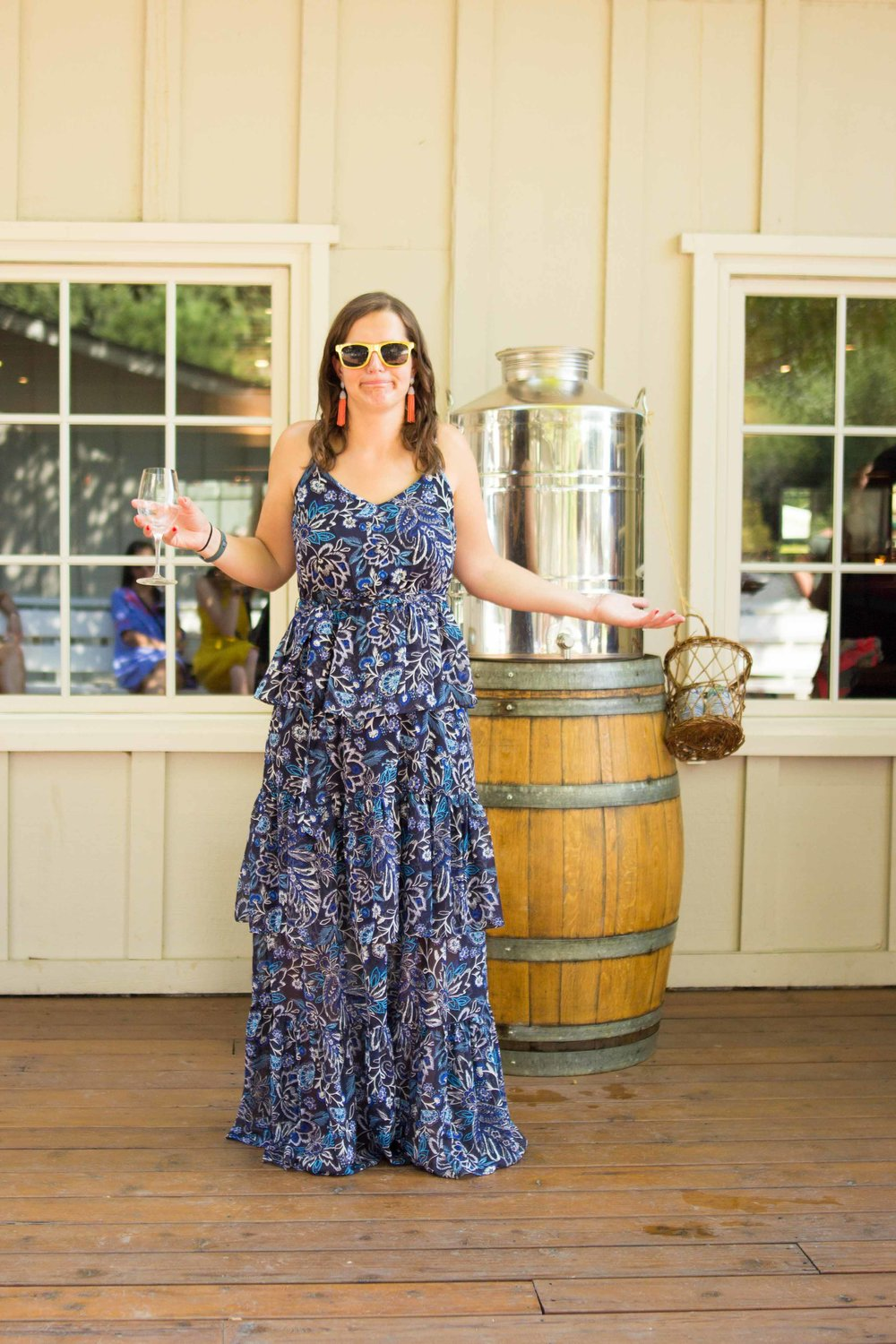 When the water barrel is empty