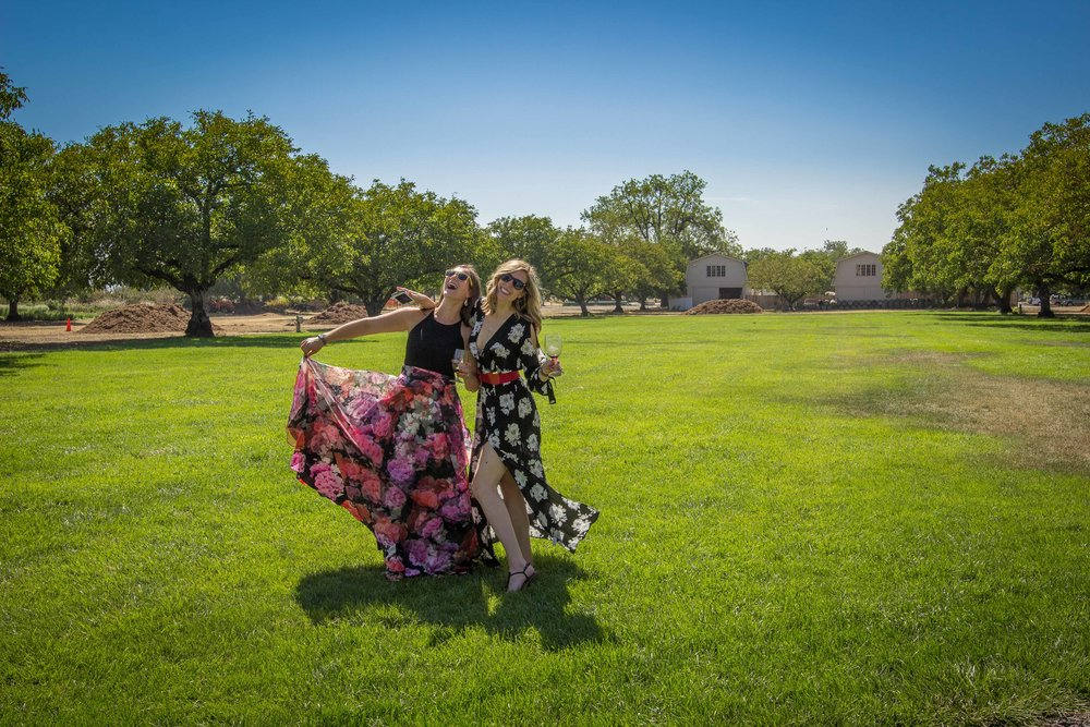 Laurie and I in a nutshell
