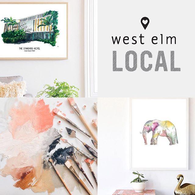 Getting ready for @westelmdadeland #westelmlocal #miami #local #miamievents