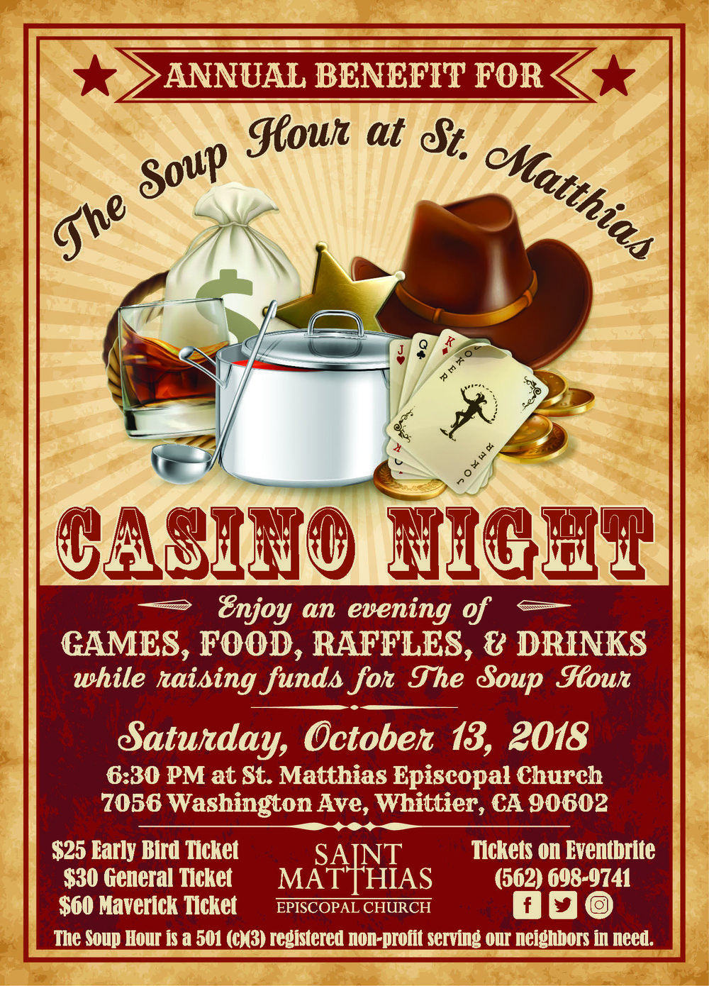 StM - Soup Hour Fundraiser Western Casino Night Invitation 5x7 PRINT.jpg