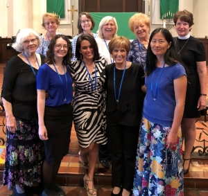Daughters of the King Service of Admission, October 2018