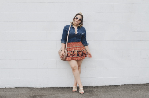 Melrose . Fashion Blogger . Rock Bottom Vogue