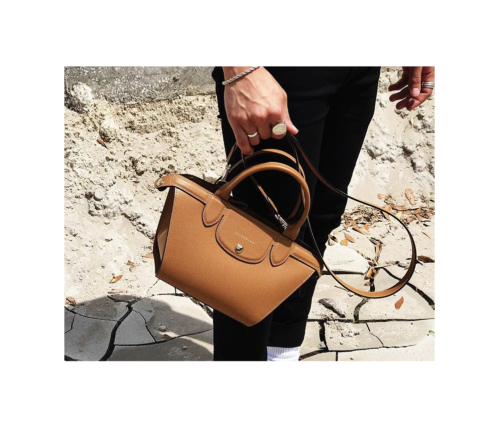 Le Pliage Heritage Small Satchel,  Longchamp .