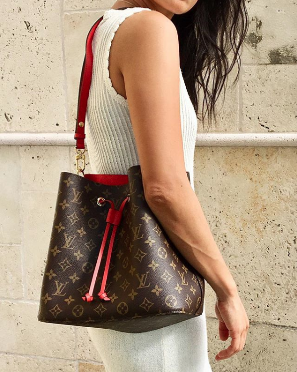 NéoNoé bucket bag from  Louis Vuitton .