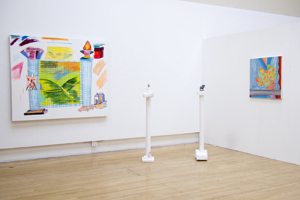"""As part of the group show """"Roommates"""" Diego Rivera Gallery, SFAI Curated by Emily Alexander 2016"""