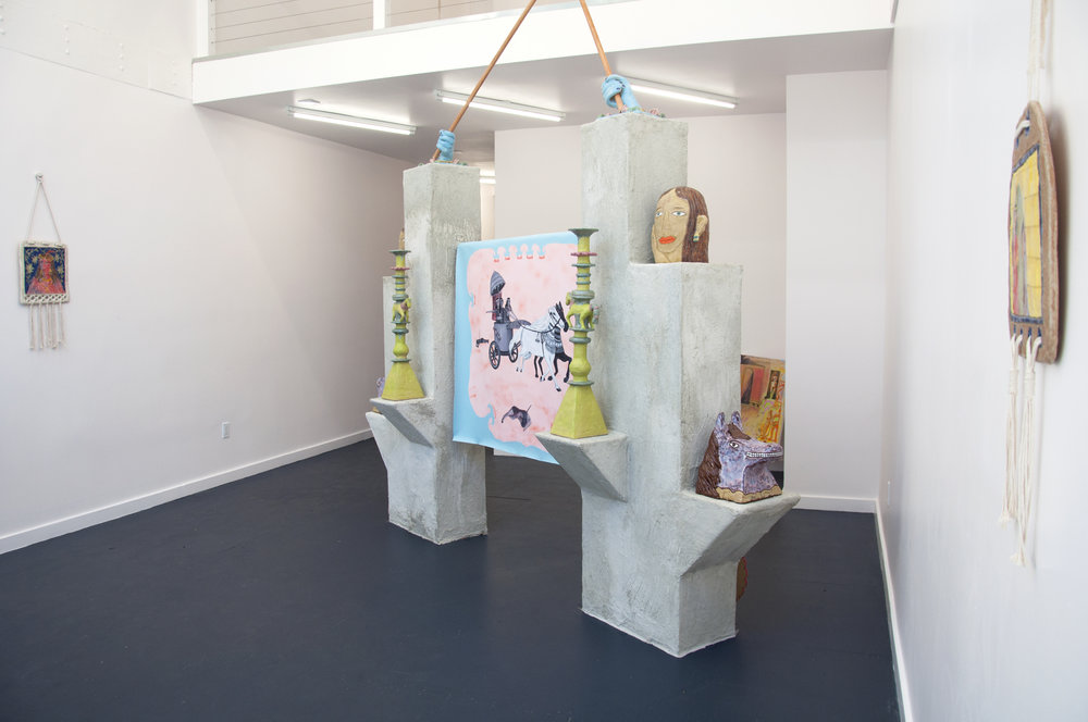"""""""Shamiram's Delight,"""" a solo show that asks the question, if the ancient mythological Assyrian warrior Shamiram had been an artist, what would she have made?"""