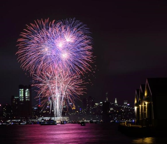 Macy's 4th of July Fireworks - When: Tuesday, July 4 @ 9:20 PMWhere: Between 40th St and 23rd StPhoto via NY Daily News