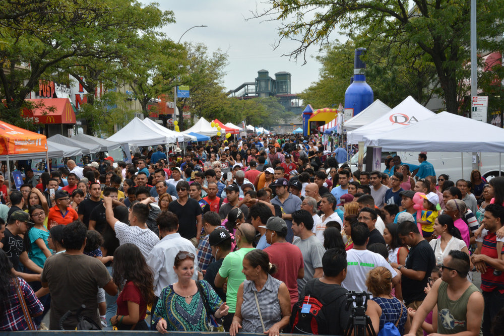 Carnaval de la Cultura Latina - When: July 16 from Noon to 6PMWhere:Junction Blvd between 163rd St & Westchester Ave in the BronxCost: FREEClick here for event websitePhoto:Carnaval de la Cultura Latina