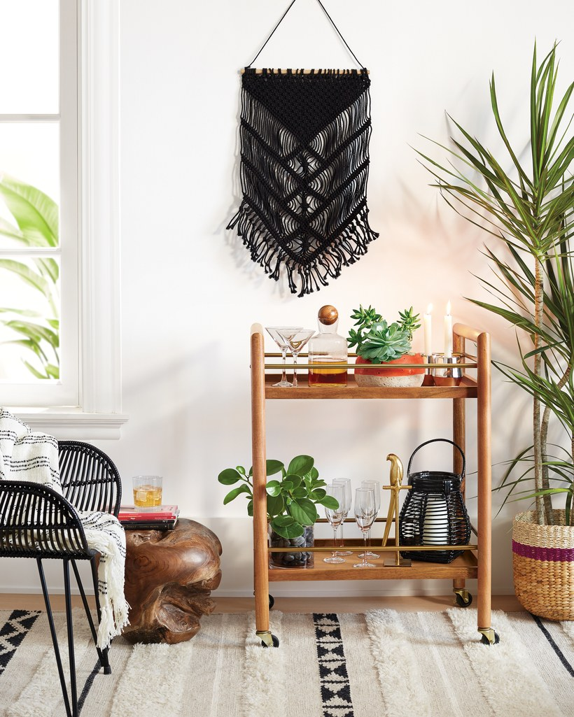 Surrounding yourself with a space that reflects who you really are increases your happiness. It's science.  Check out these home decor items under $50. You'll love your space and the money you save.