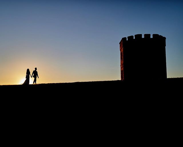 Over the castle on the hill. Been waiting to take a shot like this since I first envisioned it many years ago and finally the stars aligned with my latest pre-wedding shoot there! Super happy with how it came out! What does this mean to you when you see it? Tell me down below!!