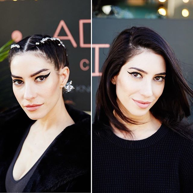 So this happened last week!! Blessed to have the chance to shoot @theveronicasmusic getting their hair styled by the amazing team at @adillacolab for Fashion Week! Busiest week of my life but totally worth it! Check out Adilla's page for some sweet video highlights featuring the kickass sisters!