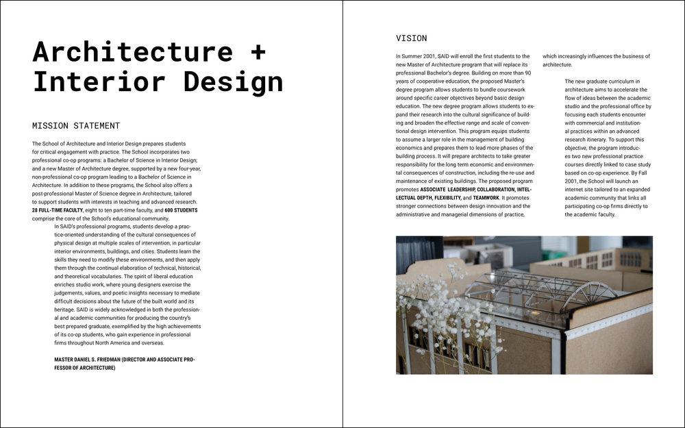 School Of Architecture And Interior Design (Title)