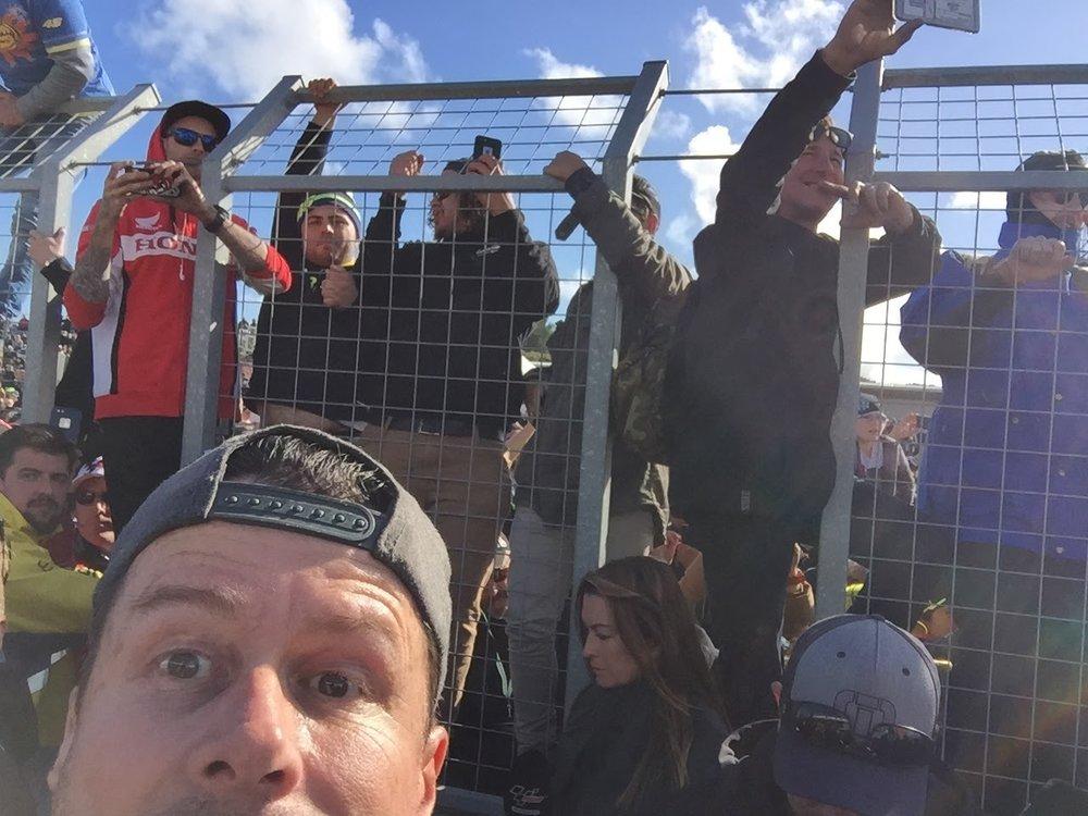 2016 - Phillip Island MotoGP podium