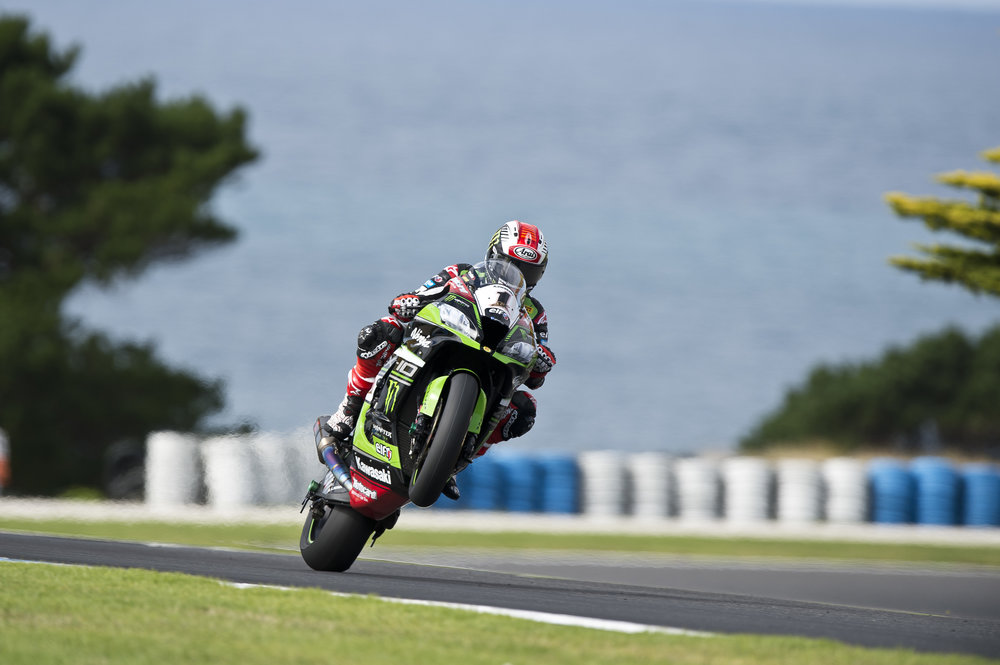 Jonathan Rea  fastest in testing this week