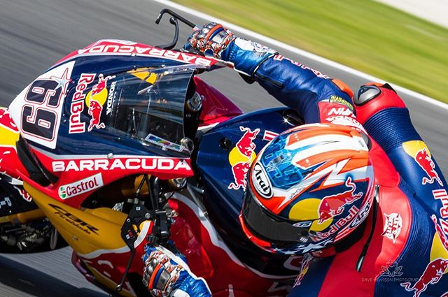 More of the great @nicky_hayden from Phillip Island #phillipislandcircuit for Round 1 of the 2017 MOTUL FIM World Superbike 
