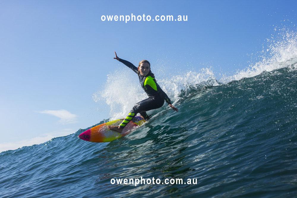 Sabre Norris, Ellen Show, - owenphoto.com.au