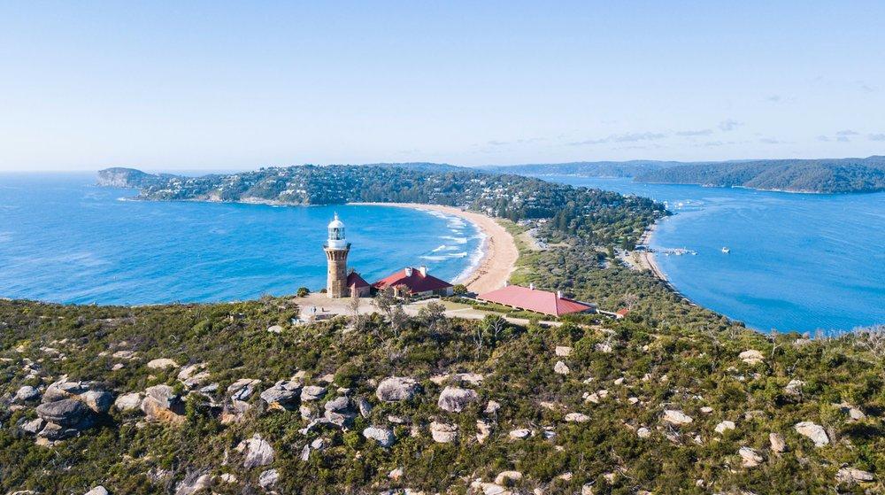 Drone photography Palm Beach, Sydney Australia